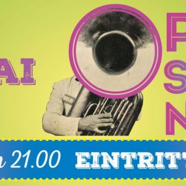 16.05.2015 – Open Stage Night