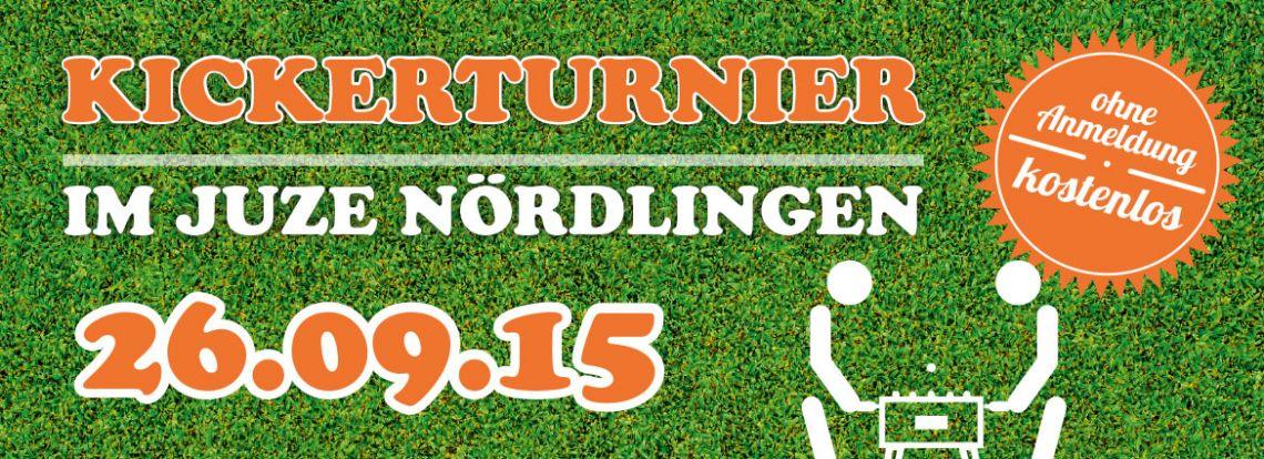 Einladung Kickerturnier 2015