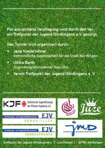 Juze Flyer Informationen Rückseite