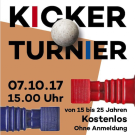 Kickerturnier 2.0 am 7. Oktober 2017